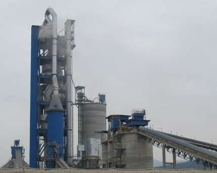 Cement factory dust emmission